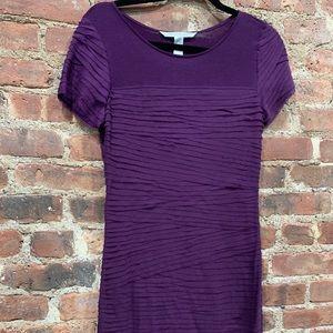 DVF Jewel Purple Dress